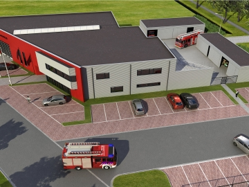 Brandweerkazerne Oostburg