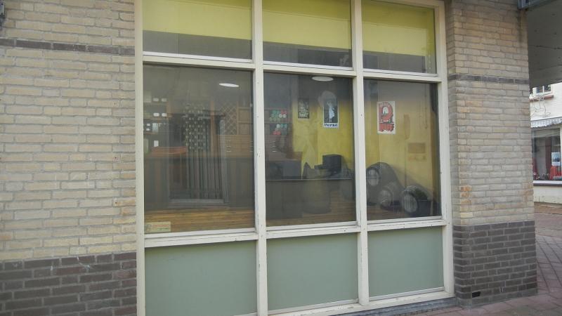 Foto raam 1 geplaatste raamafbeelding leegstaand vastgoed