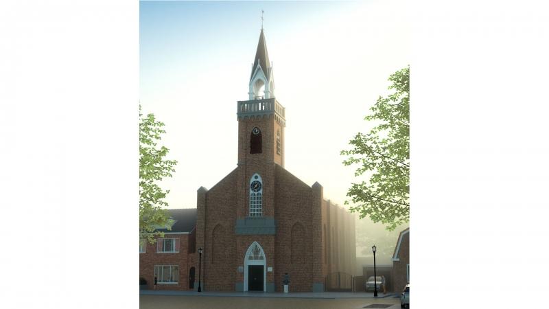 Impressie Kerk Arnemuiden