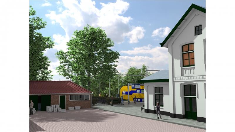 Impressie Vishal en station Arnemuiden