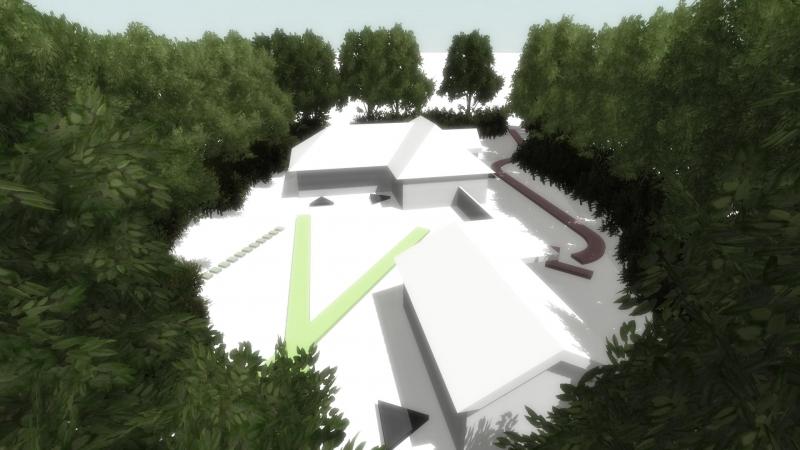 Screenshot interactieve 3D presentatie massastudie variant A