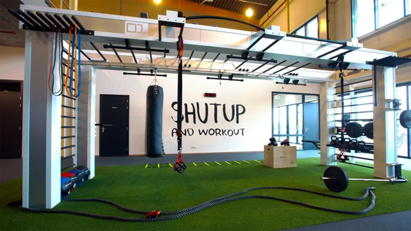 Interieur Puur fitness