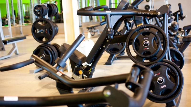 Interieur impressie Puur fitness