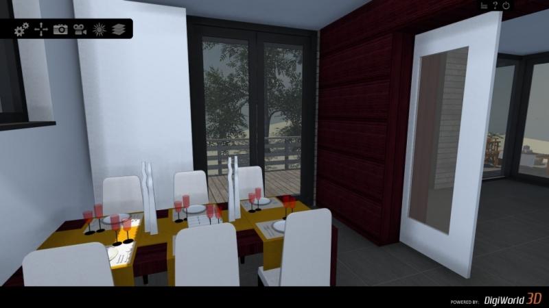 Het interieur kan al ver voor de bouw interactief ingedeeld worden